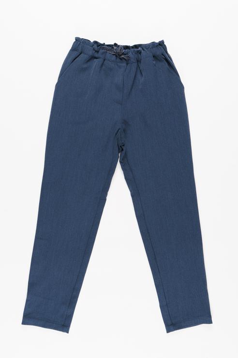Купить 219BBGC63021000, Брюки для девочки Button Blue, цв.синий, р-р 128,