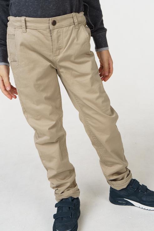 Купить 4524, Брюки для мальчика Mayoral, цв.бежевый, р-р 92, Детские брюки и шорты
