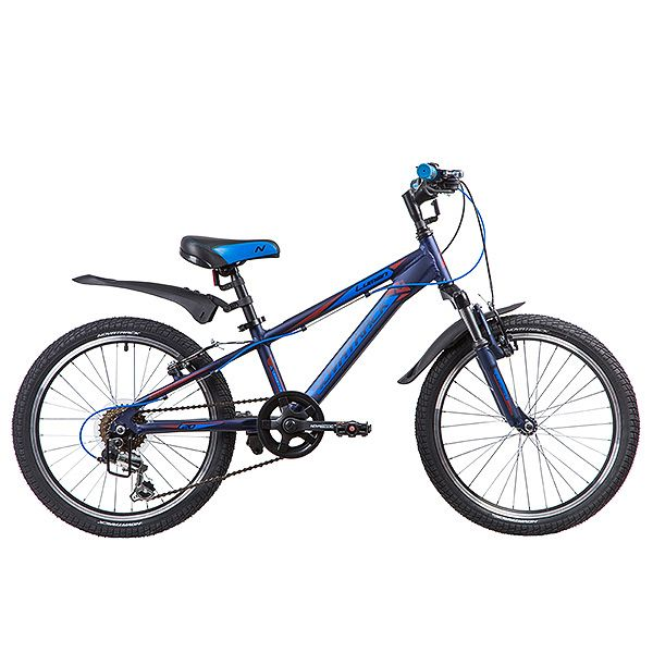 Велосипед Novatrack 20 Lumen синий