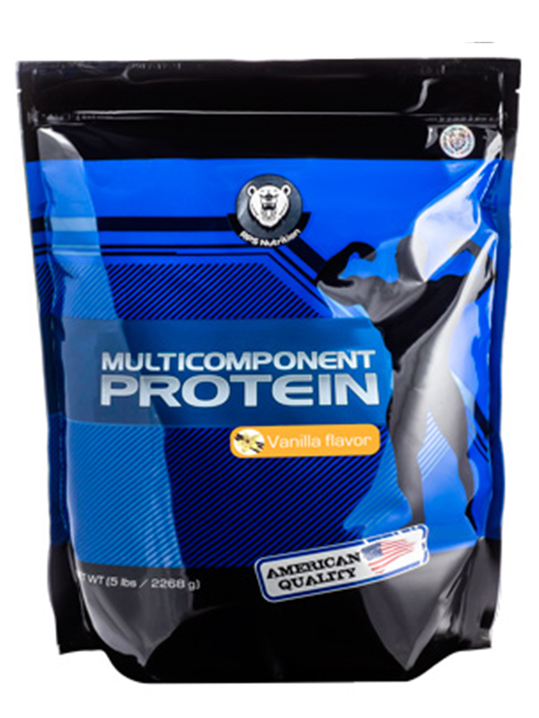 Изолят сывороточного белка RPS Nutrition Whey Isolate 100% (клубника), 2268 г фото