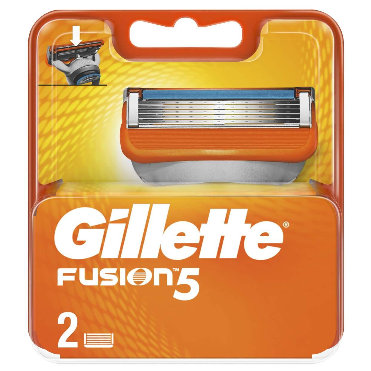 Сменные кассеты Gillette Fusion5 2 шт
