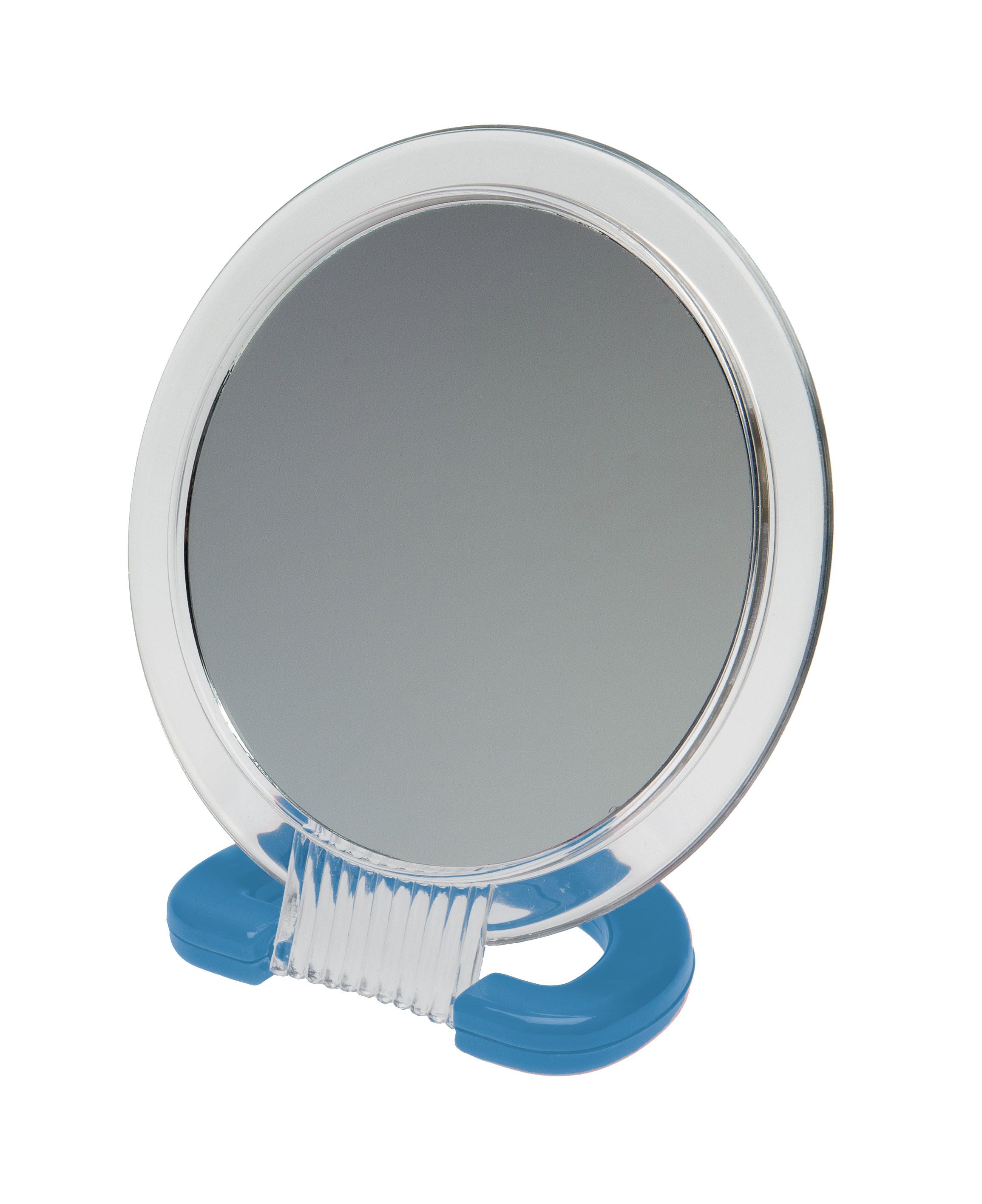 Зеркало Dewal Beauty настольное синего цвета,230x154 мм. MR110