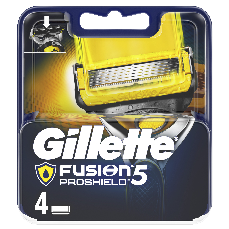 Сменные кассеты Gillette Fusion5 ProShield 4 шт