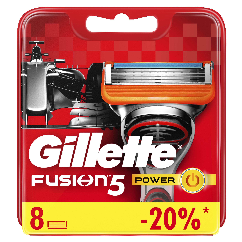 Сменные кассеты Gillette Fusion5 Power 8 шт