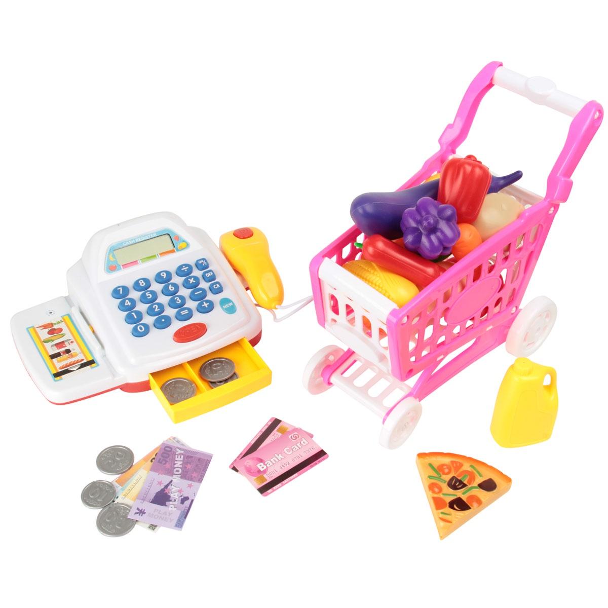 Купить Игровой набор Магазин: касса, продукты, Yako Toys, Игрушечные магазины