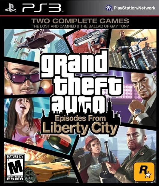 Игра Grand Theft Auto: Episodes from Liberty