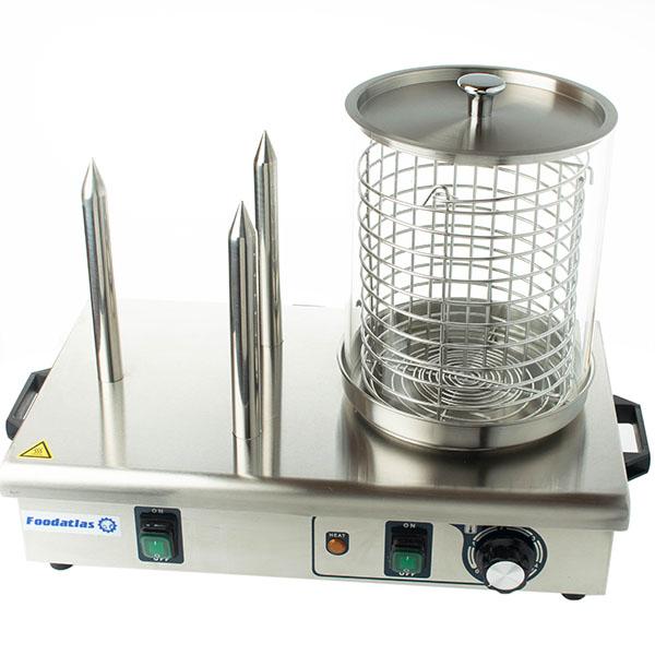 Аппарат для приготовления хот догов Foodatlas
