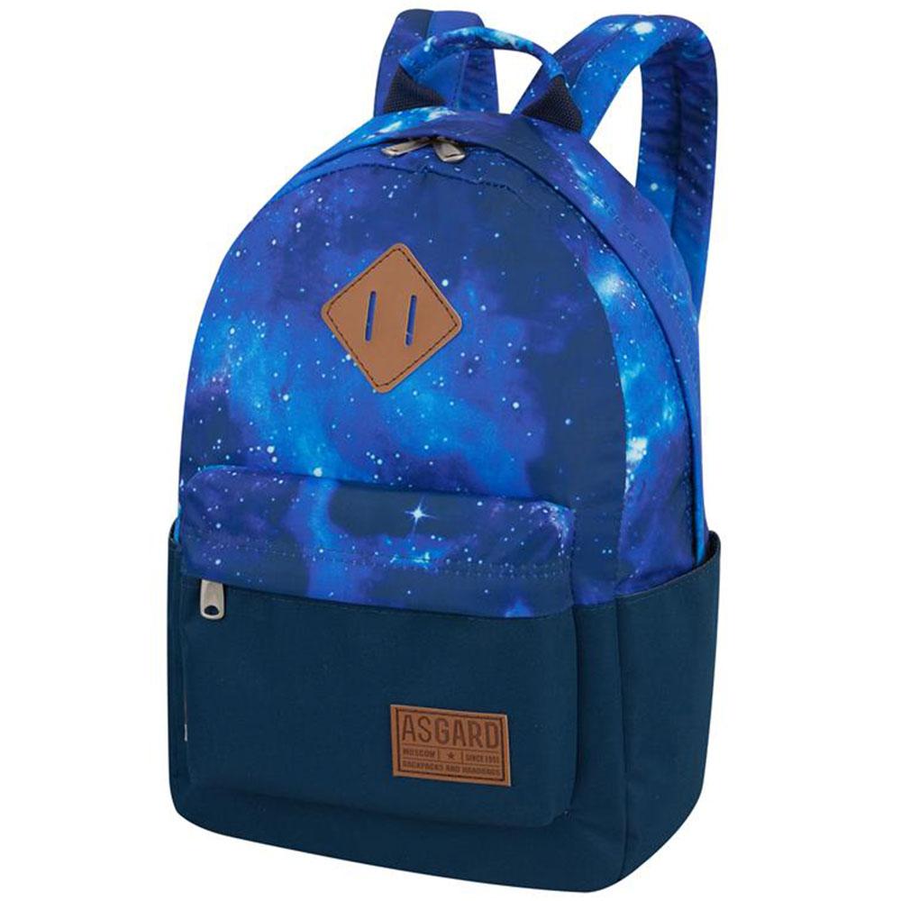Рюкзак Asgard Р 5333Д Галактика синий