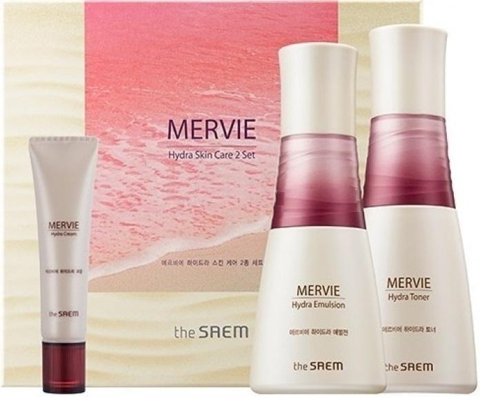Купить Набор для лица THE SAEM Mervie Hydra skin care set уходовый 150мл;130мл;30мл
