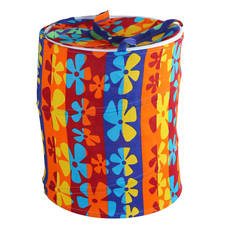 Корзина для игрушек Джамбо Тойз Цветочные узоры