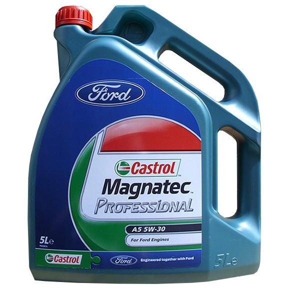 Моторное масло Castrol Magnatec Professional A5 5W-30 5 л