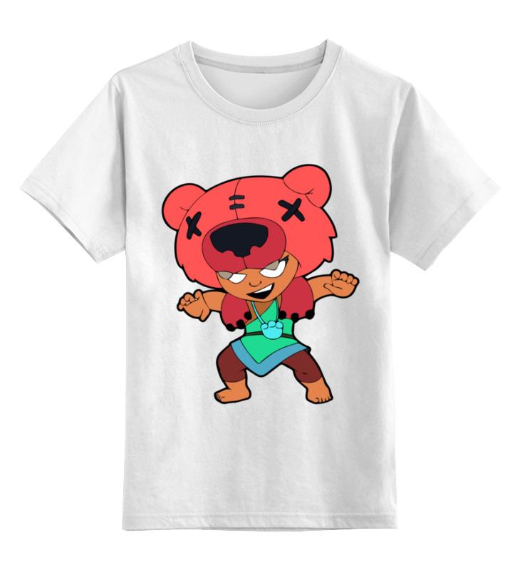 Детская футболка Printio Бравл старс цв.белый р.104 0000003365403 по цене 790