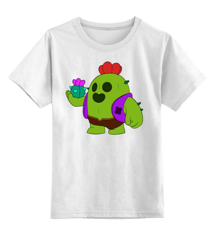 Детская футболка Printio Бравл старс цв.белый р.104 0000003365413 по цене 790