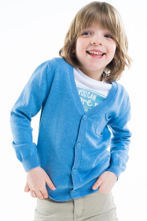 Кардиган Gulliver для мальчиков, цв. синий,