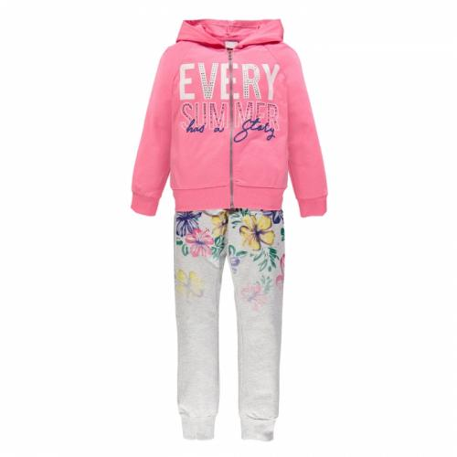 Купить 181MIEP003, Костюм для активного отдыха MEK для девочек, цв. розовый, р-р 128, Костюмы для девочек