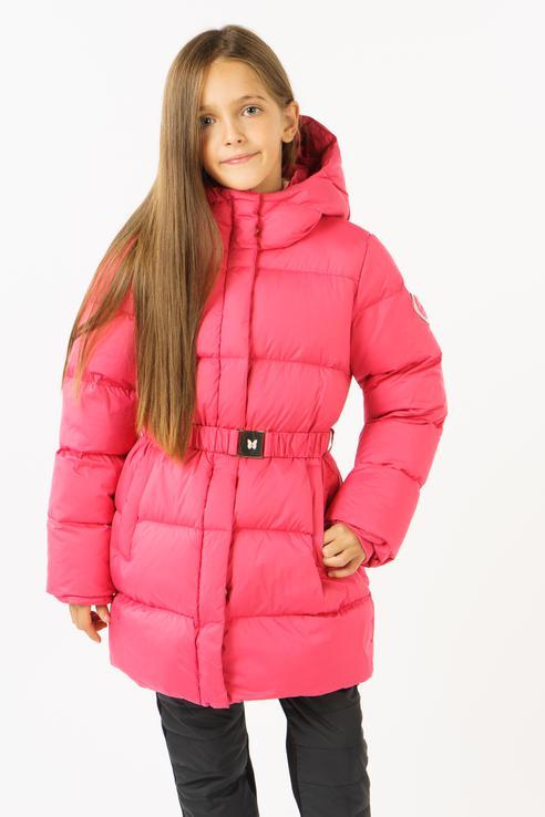 Пуховик BAON для девочек, цв. розовый,