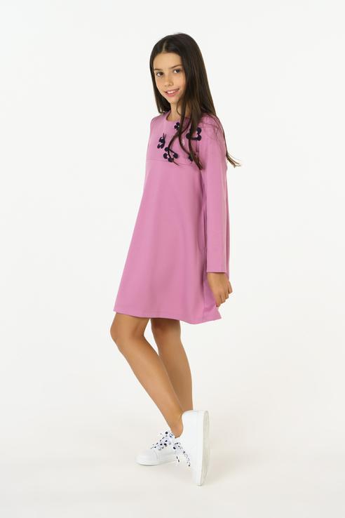 Платье BAON для девочек, цв. розовый, р-р 158 BJ458504