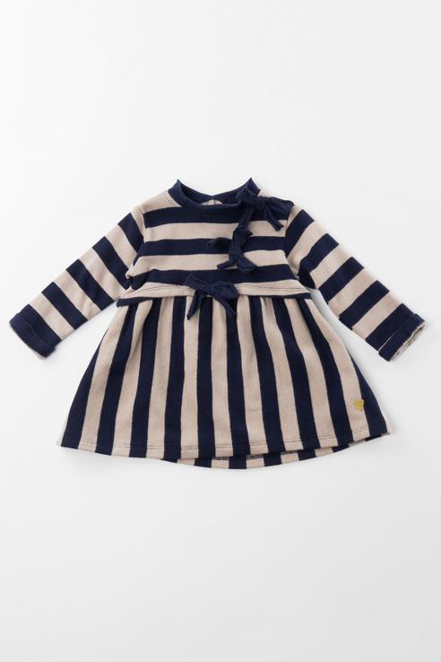 3.V713.00, Платье Sarabanda для девочек, цв. синий, р-р 74,  - купить со скидкой
