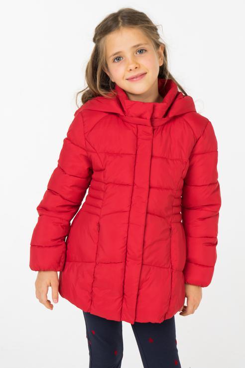 Купить 415, Куртка Mayoral для девочек, цв. красный, р-р 116, Куртки для девочек