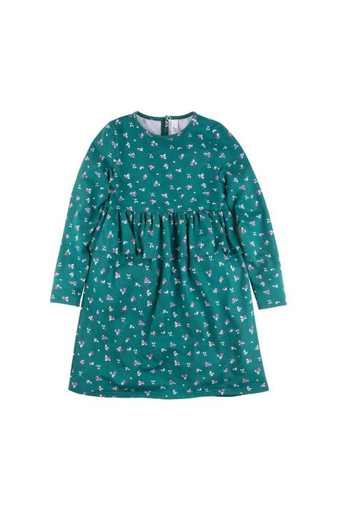 Платье Bossa Nova для девочек, цв. зеленый, р-р 116