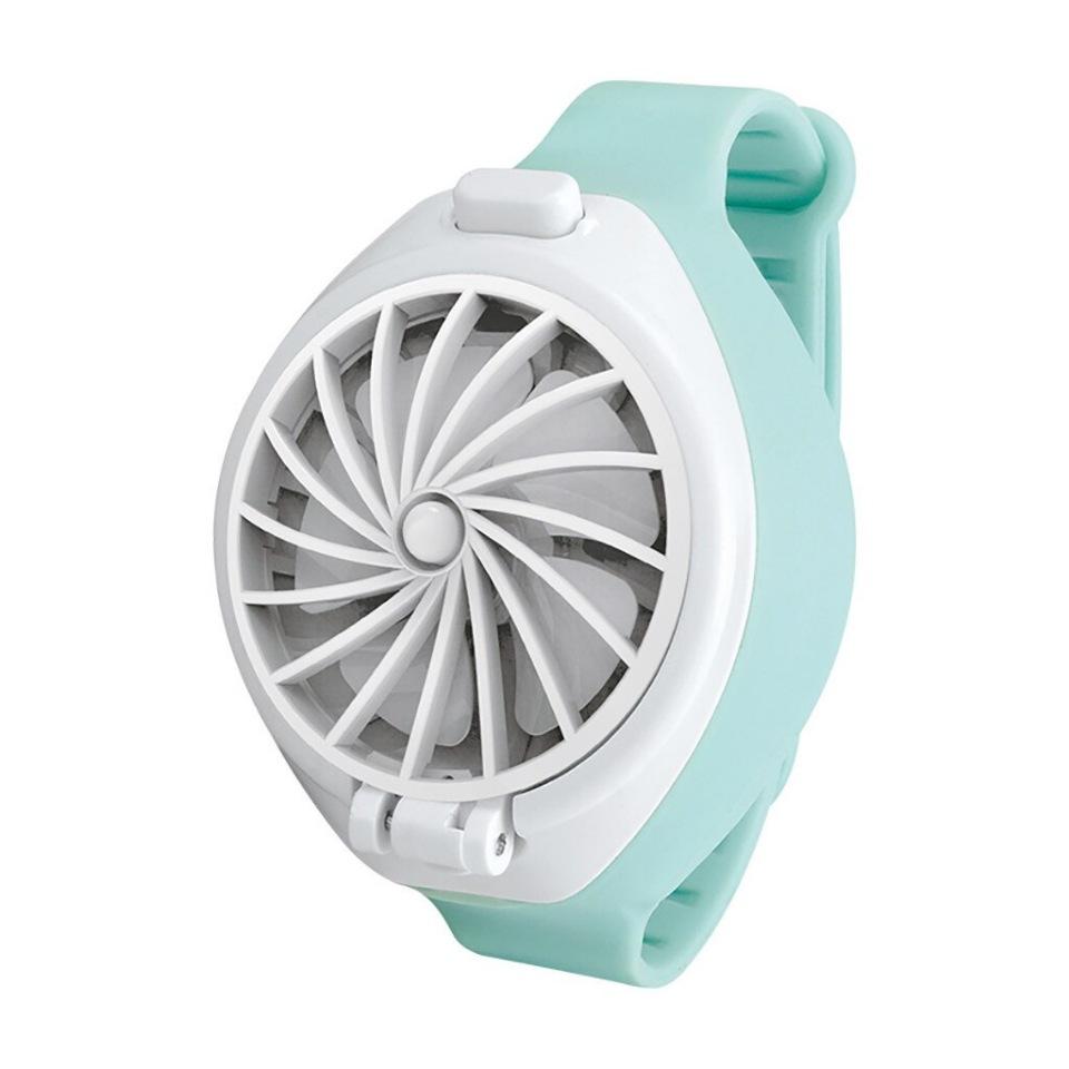 Портативный вентилятор на руку WATCH FAN(мятный)