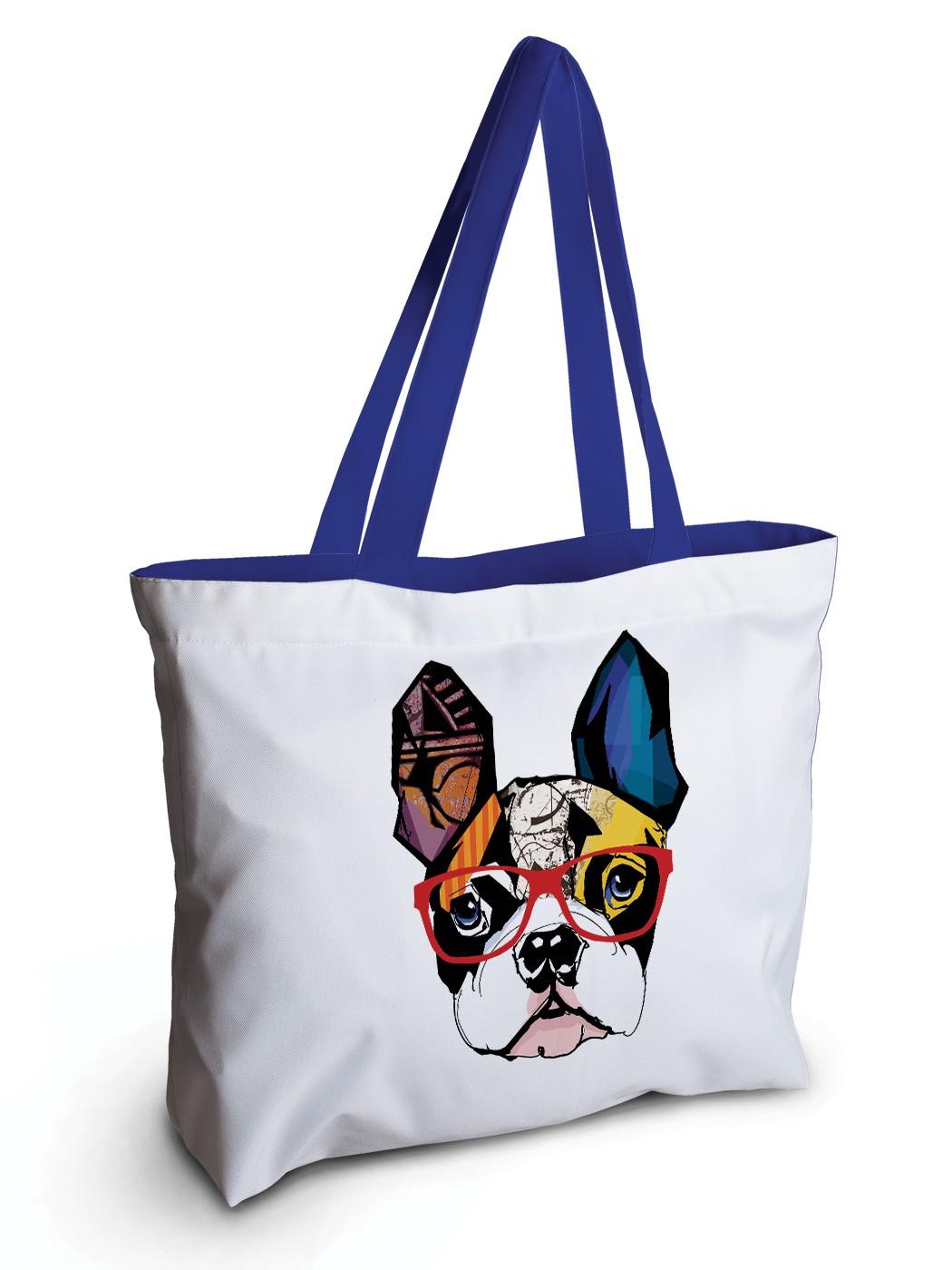 Спортивная сумка JoyArty bsz_58154 геометрический мопс