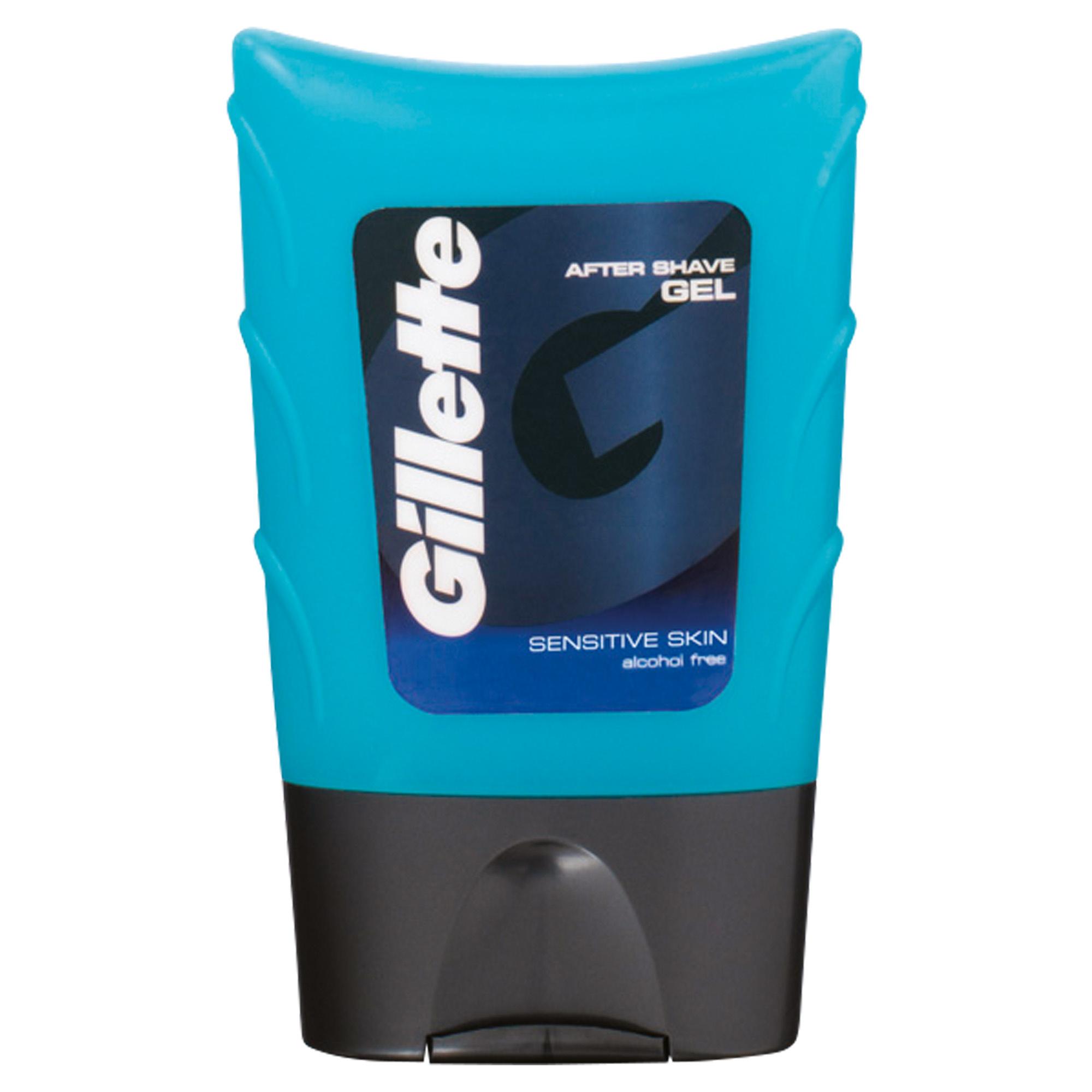 Гель после бритья Gillette для чувствительной кожи