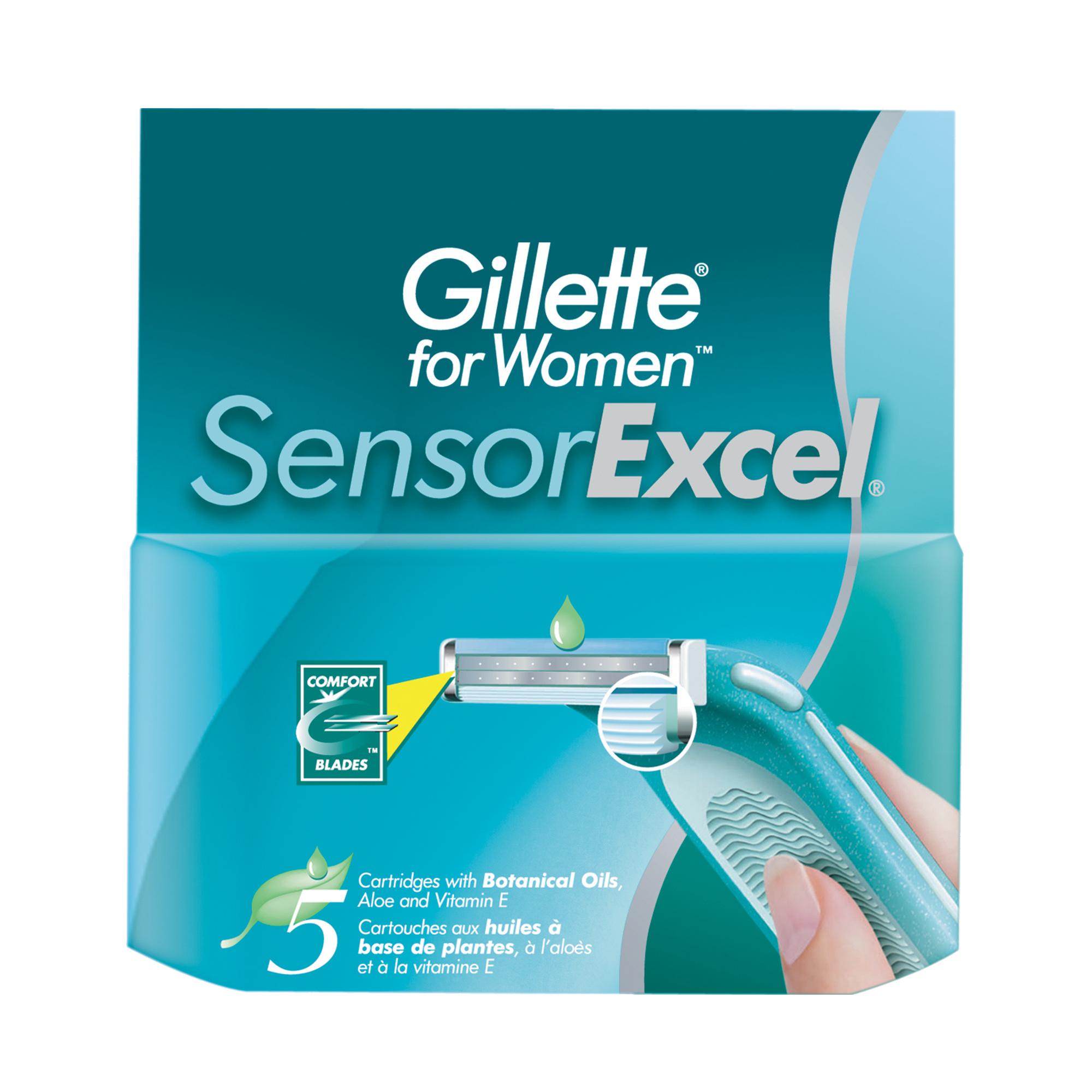 Сменное лезвие для станка Gillette Sensor Excel