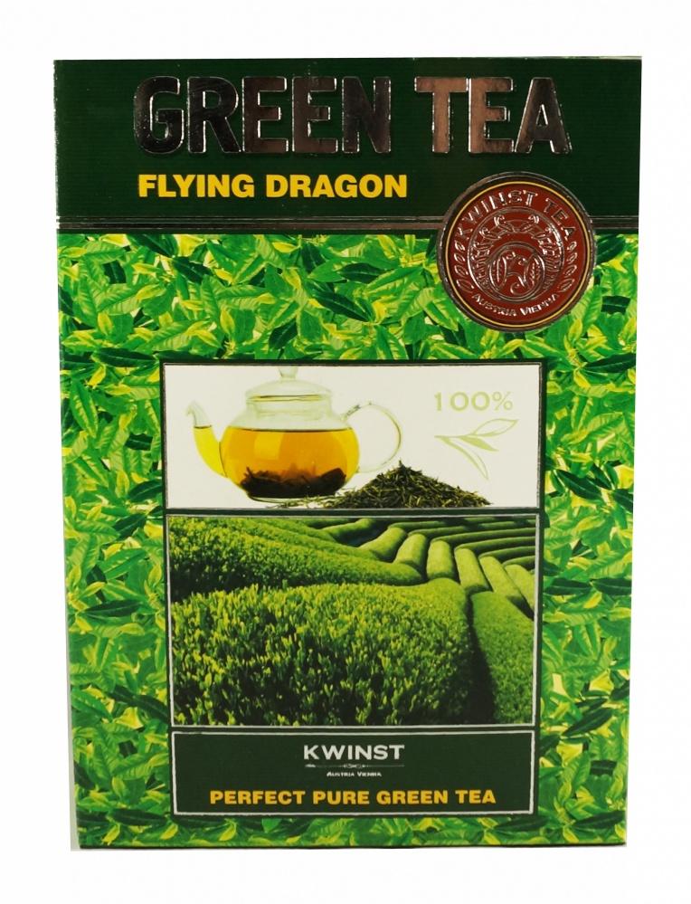 Чай Kwinst летящий дракон зеленый крупнолистовой 250 г фото
