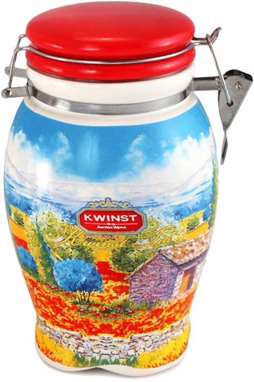 Чай Kwinst чайная ваза черный среднелистовой 200 г фото