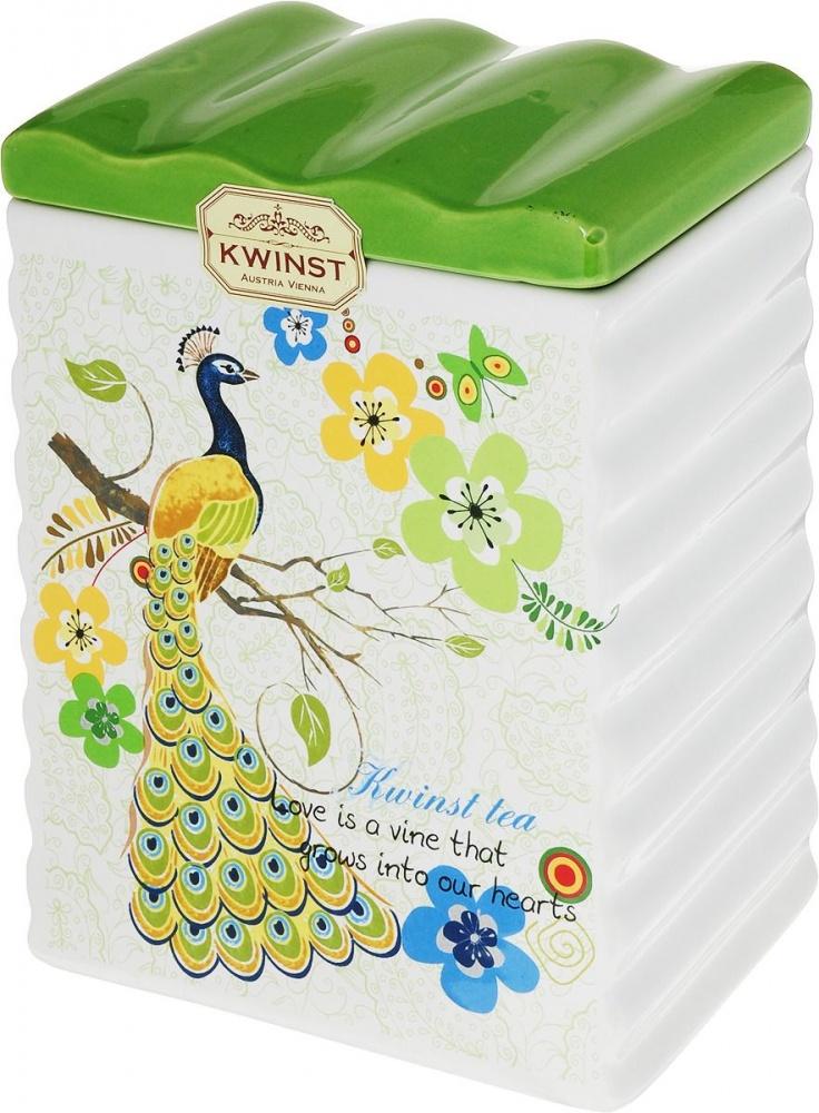 Чай Kwinst павлин зеленый крупнолистовой 500 г фото