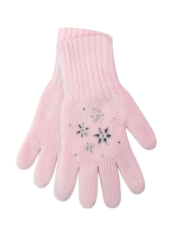 перчатки aleksa pc-4, р-р l 18 цв. светло-розовый