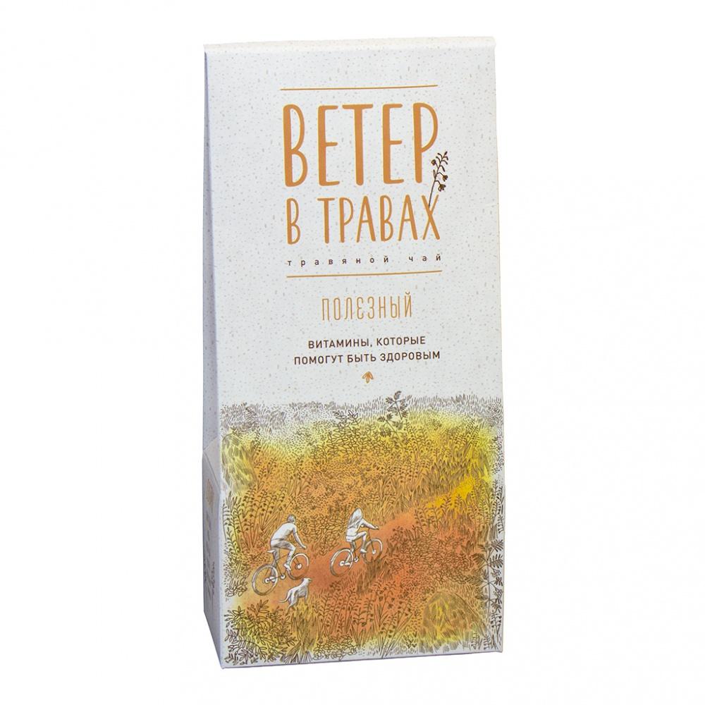 Травяной чай Ветер в травах полезный 40 г