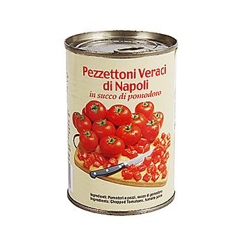 Томаты резаные в собственном соку консервированные, Sapori di Napoli, 400 г  Италия