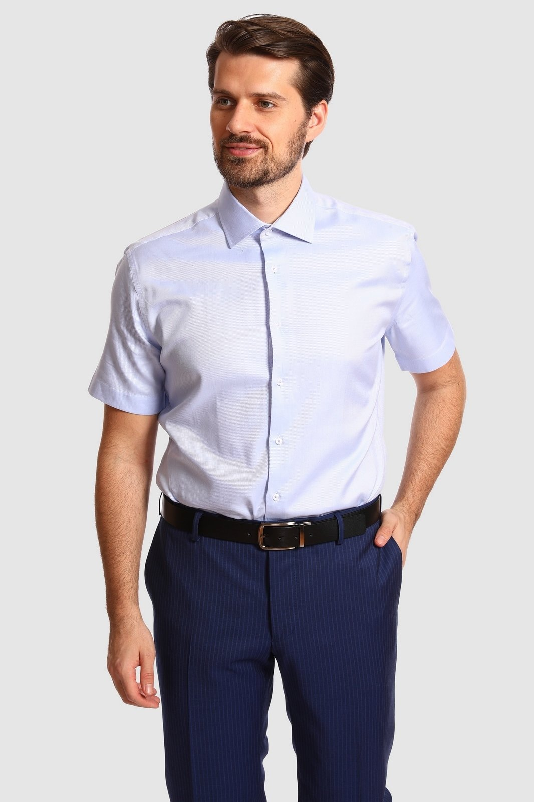 Рубашка мужская Kanzler 20S-SBL30S2SS/02-1 38