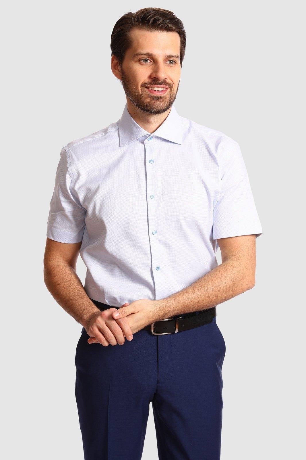 Рубашка мужская Kanzler 20S-SBL32SSS/02-1 39