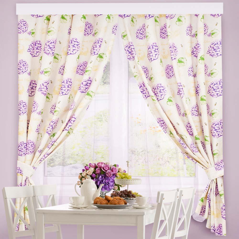 Комплект штор Altali ati623314 фиолетовый 136х180