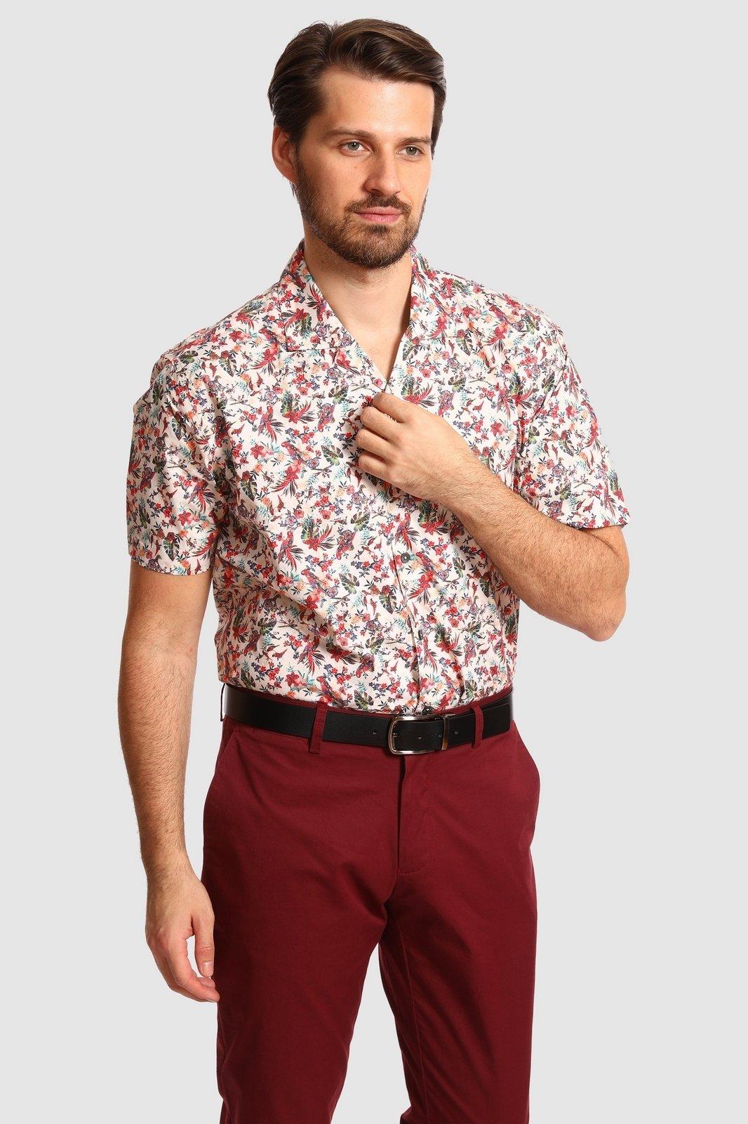 Рубашка мужская Kanzler 20S-SW16RSS/11-4 43
