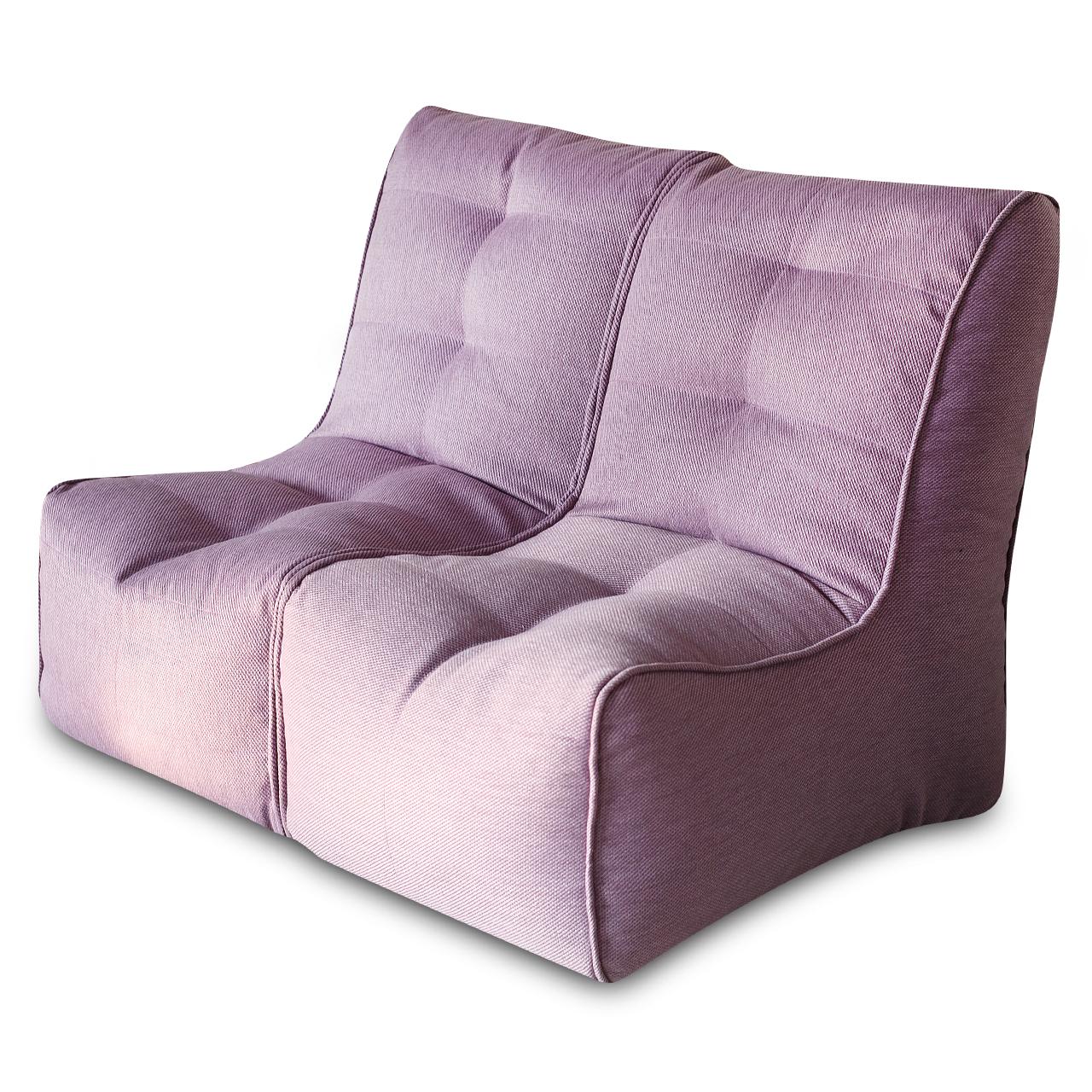 Диван SHAPE Фиолетовый 2 секции