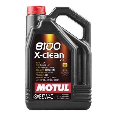 Моторное масло Motul 8100 X-clean 5w-40 5л 102051
