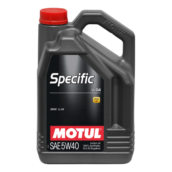 Моторное масло Motul Specific LL-04 5w-40 5л 101274