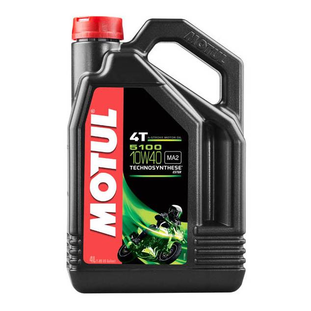 Моторное масло Motul 5100 4T 10W-40 4л 104068