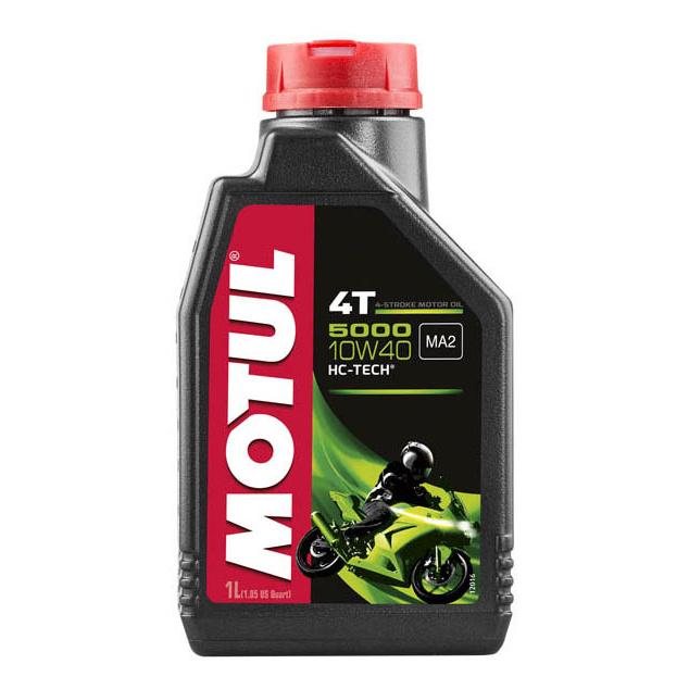 Моторное масло Motul 5000 4T 10W-40 1л 104054