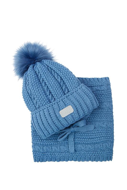 Комплект (шапка, снуд) PLAYTODAY 32012195 р.50