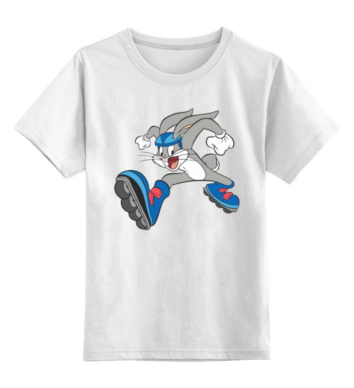 Детская футболка Printio Кролик цв.белый р.152 0000003356850 по цене 790
