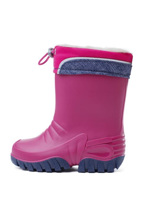 388213, Резиновые сапоги PlayToday для девочек, цв. розовый, р-р 26, Play Today, Резиновые сапоги детские  - купить со скидкой