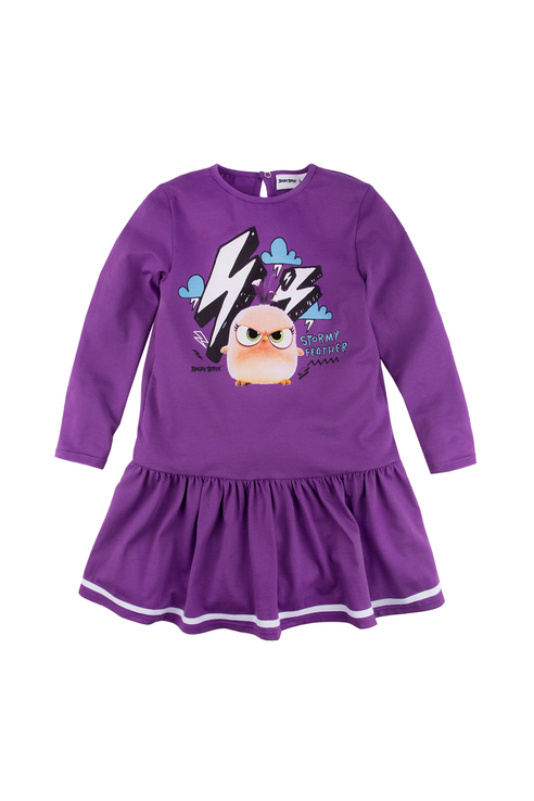 Платье Bossa Nova для девочек, цв. фиолетовый, р-р 86