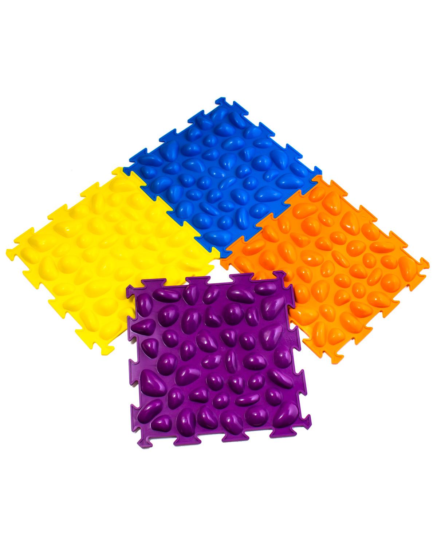 Купить Коврик массажный Тривес Цветные камешки М-516 жесткий