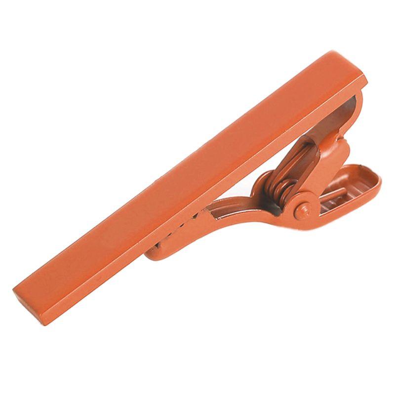Зажим для галстука 2beMan TC117 оранжевый