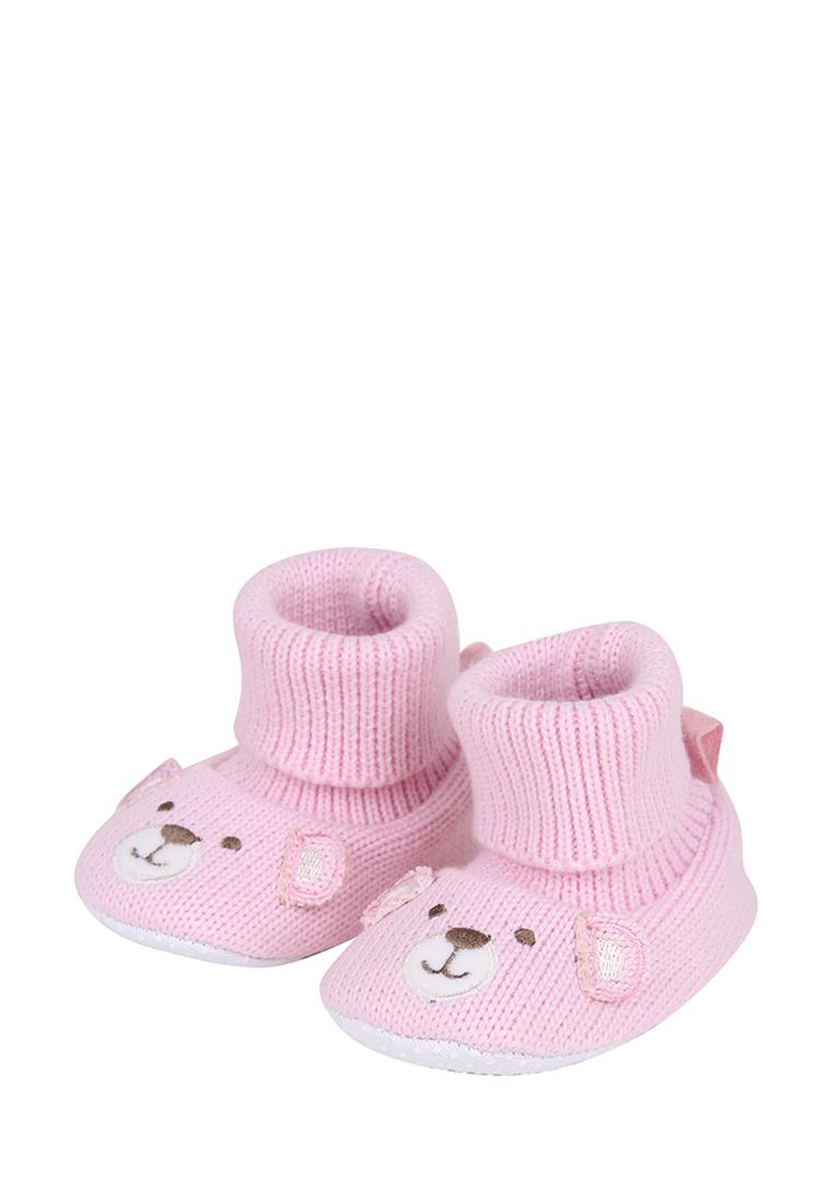 Пинетки для девочек Kari baby, цв. розовый,